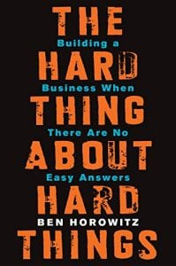 This Book offers essential advice on building and running a startup - practical wisdom for managing the toughest problems business school doesn't cover, based on Ben Horowitz popular blog.